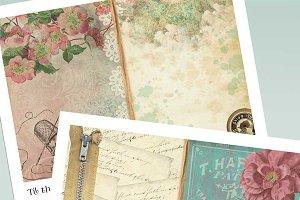 Vintage Sewing Printable Journal Kit