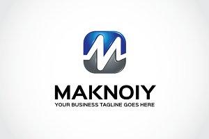 Maknoiy Logo Template