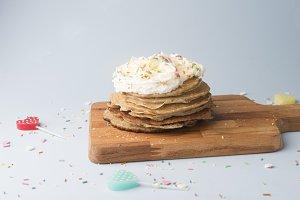 Pancake for birthday