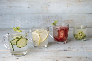 Assortiment Water for summer
