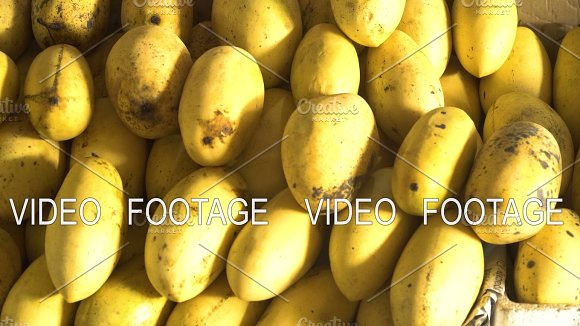 Mango In The Fruit Market