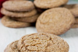 Old Fashion Ginger Snap Cookies