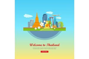 Welcome to Thailand, Travel Poster