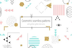12 Trendy seamless patterns