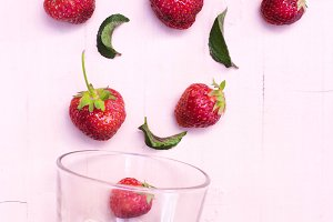 ingredients strawberry mojito