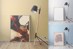 Presentation Art / Wall Mock-up