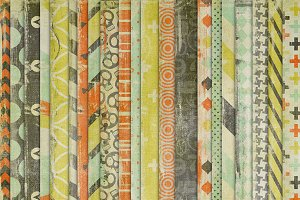 Awesomely Random {patterned papers}