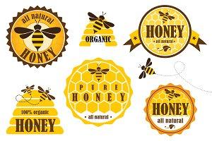 Honey badges