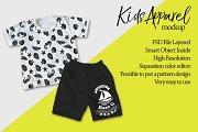 Kids Apparel Mockup