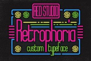 Retrophoria Typeface + Bonuses