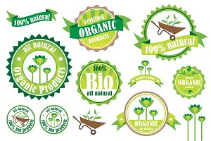 Organic / Bio / Natural badges