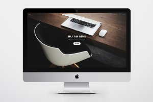 Gene - Portfolio Wordpress Theme