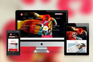 SW Well Responsive WordPress Theme