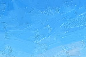 A background of a blue sky painting