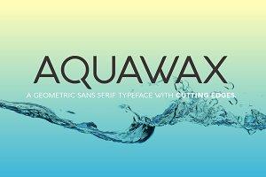 Aquawax - 12 fonts