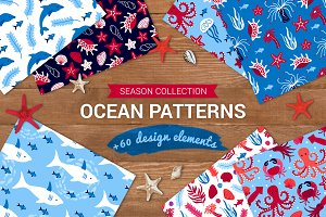 Ocean Patterns + Design Elements