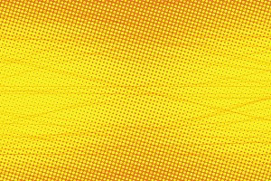 yellow Scratch touches pop art background