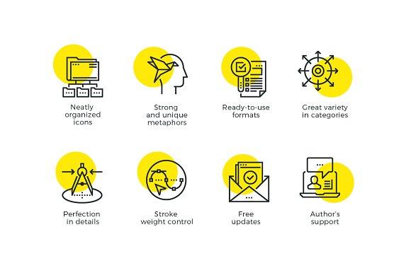 futuro line icons icons creative market - Free Resume Icons