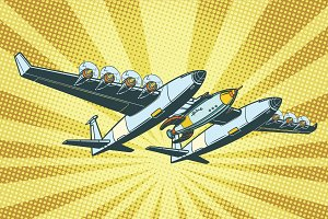 Airplane to send rockets into space