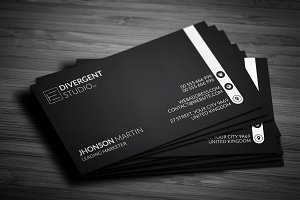 Sleek & Clean Business Card