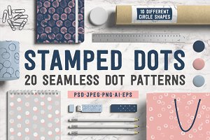 Stamped Dots