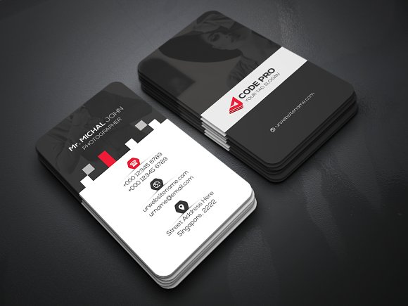 01 Pro Business Card