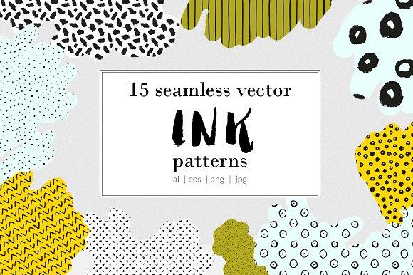 Handmade Ink Patterns