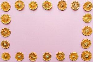 Orange frame