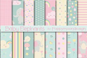 Baby elephant papers