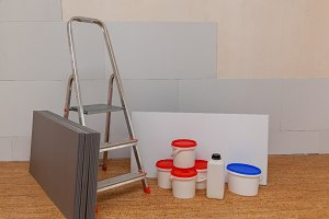 isolating panels and building materials