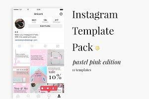 Instagram Pastel Pink Pack