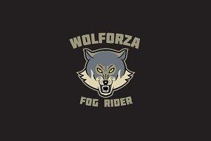 Wolforza Logo Template