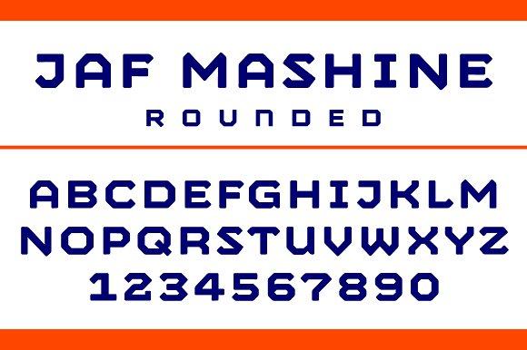 JAF Mashine Rounded