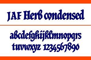 JAF Herb Condensed