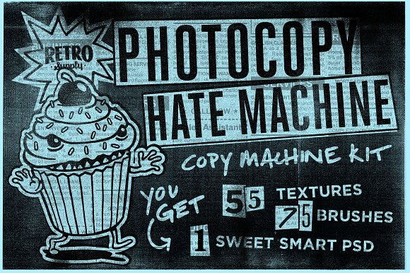 Photocopy Hate Machine Texture Kit