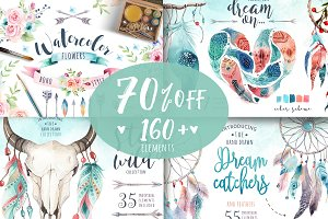 70% off BOHO BUNDLE