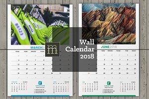 Wall Calendar 2018 (WC027-18)