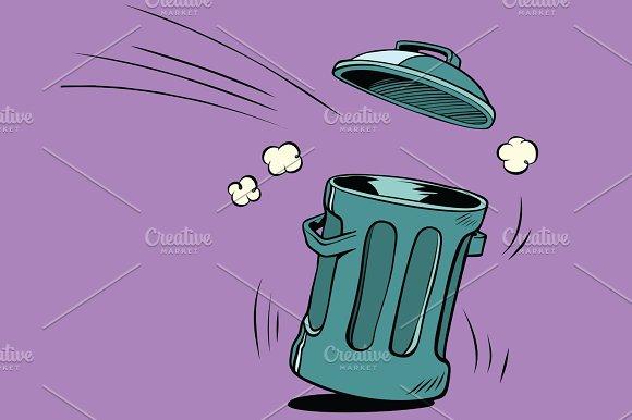 Street Trash Ecology And Waste Management