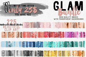 225 in 1 Glam Bundle - 90% OFF