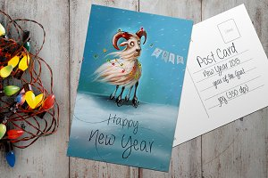 Post Card - New Year 2015