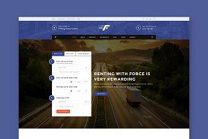 Force Car - Automotive HTML Template