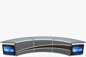 Virtual Tv Studio News Desk 4