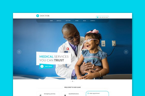 Doctor Medical HTML Template
