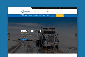 Acerill - Logistics HTML Template