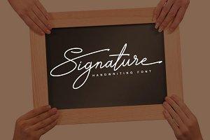 Signature TypeFace