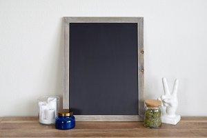 Styled Chalkboard Mockup