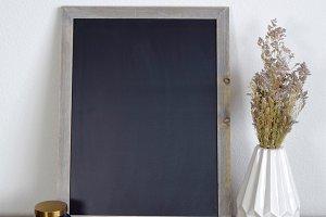 Lifestyle Chalkboard Mockup
