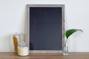 Kitchen Chalkboard Mockup