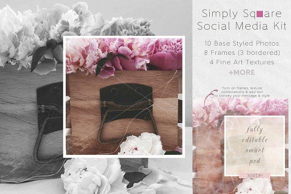 Simply Square Social Media Kit