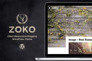 Zoko - Clean Blogging Theme
